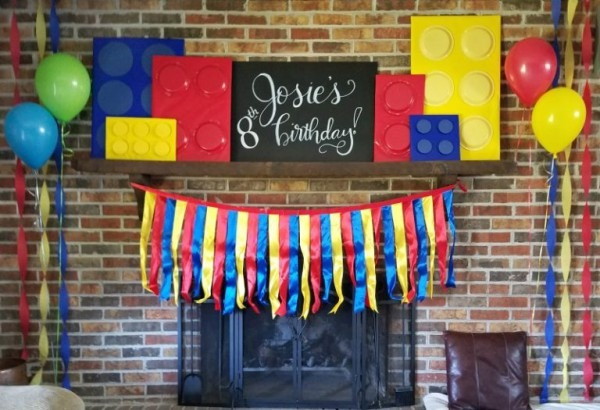 How To Make Easy Legos For A Kid's Awesome Birthday Party