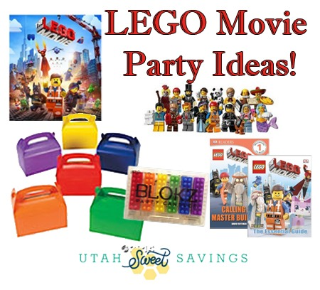 Lego Movie Party Supplies And Gift Ideas! Plus Pre