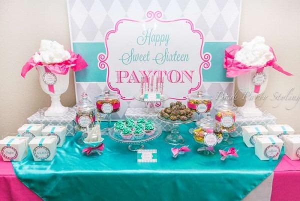 Birthday, Sweet 16 Birthday Party Ideas