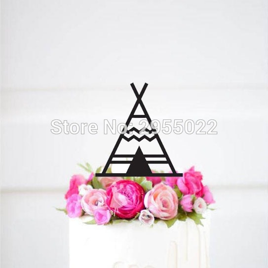 Personalised Teepee Cake Topper,first Birthday Cake Topper,1st