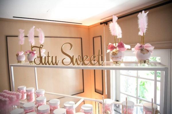 Kara's Party Ideas Pink  Tutu Cute  Ballerina Baby Shower