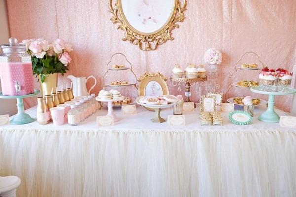 Kara's Party Ideas Royal Princess 1st Birthday Party