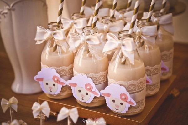 Sheep Baby Shower Ideas Little Lamb Ba Shower Peach Little Lamb Ba