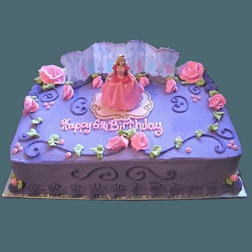 Disney Princess Themed Cakes