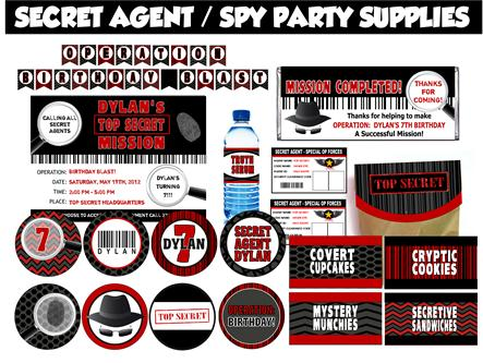 Spy Party Games