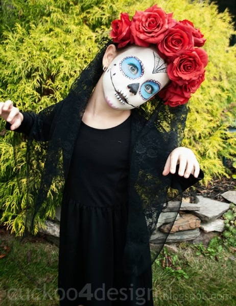 Sugar Skull Costume Diy