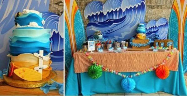 Kara's Party Ideas Surf Shack Birthday Party Planning Ideas