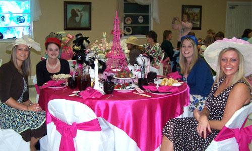 Lovely Ladies' High Tea Party Ideas