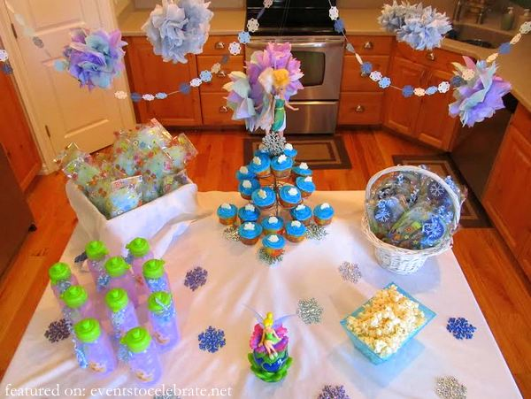 Tinkerbell & Periwinkle Birthday Party