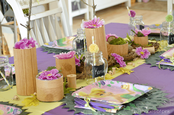 Two Shades Of Pink  Tinkerbell Party + Diy Ideas