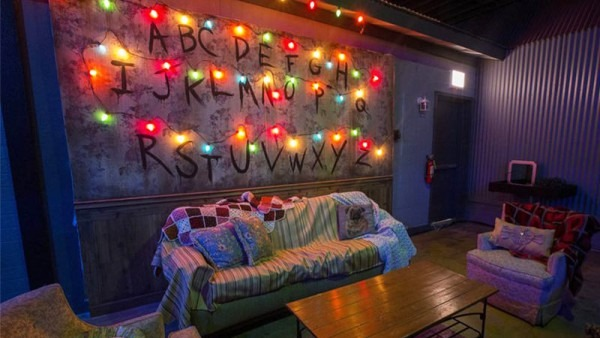 Party In The Upside Down At The 'stranger Things' Pop