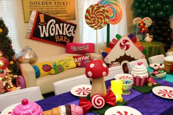 Kara's Party Ideas Willy Wonka's Winter Wonderland Party {ideas