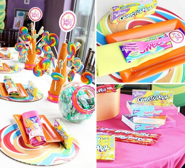 Amazing Willy Wonka Themed Kids Birthday Party