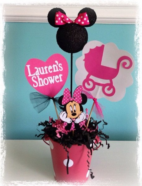 Minnie Mouse Baby Shower Decoration On Etsy, $13 50