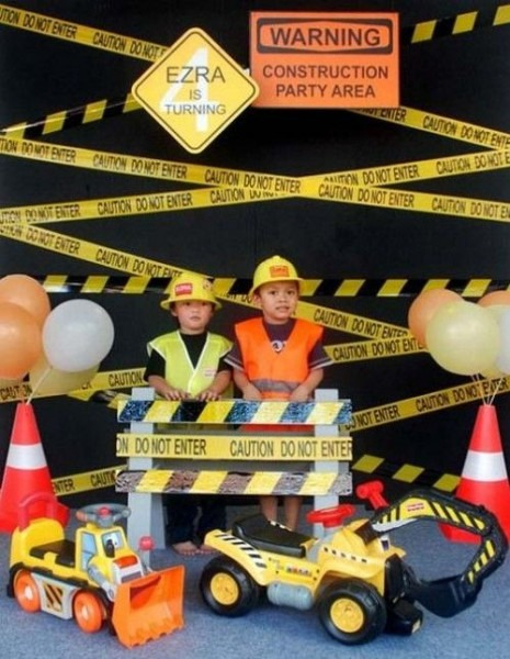 48 Construction Theme Birthday Party Decor And Food Ideas { And