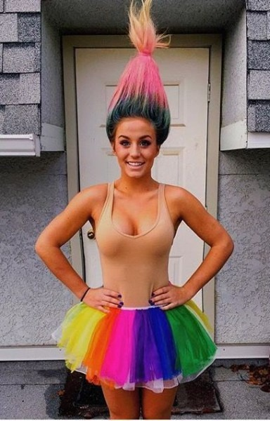 Image Result For Diy Women's Troll Costume  Costumes