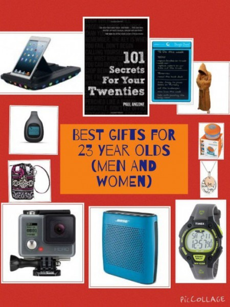 Birthday And Christmas Gift Ideas For 23 Year Olds (men And Women