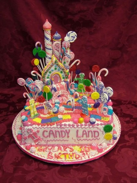 Candyland Cake — Childrens Cakes More At Recipins Com