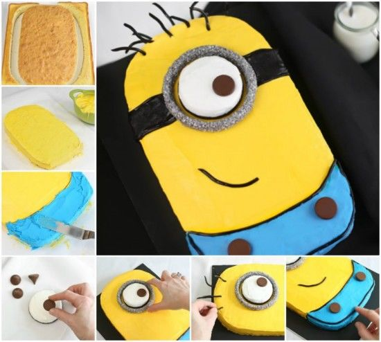 Diy Minion Sheet Cake Pictures, Photos, And Images For Facebook