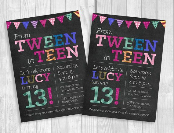 19 Best 13th Birthday Party Images On Party Ideas Blog Birthday