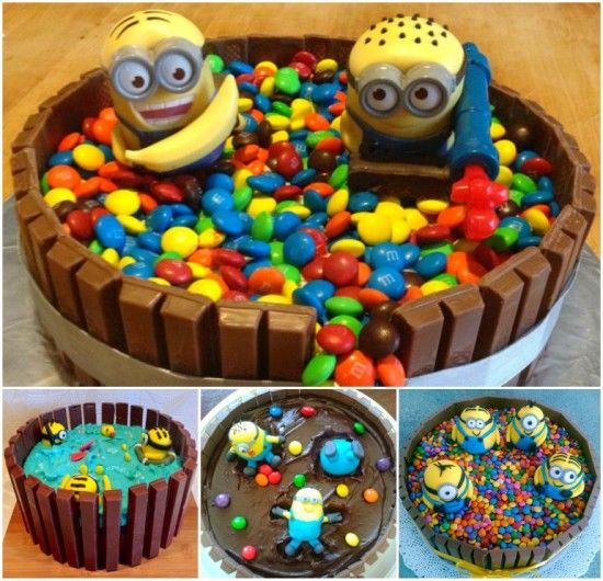 Diy Minion Kit Kat Cake Pictures, Photos, And Images For Facebook