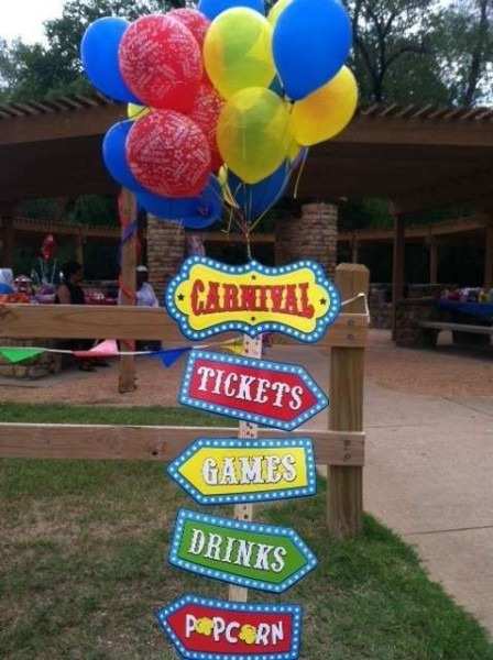 Carnival Birthday Party Ideas In 2019