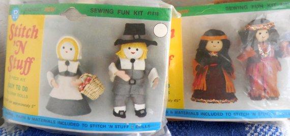 Diy Thanksgiving Dolls
