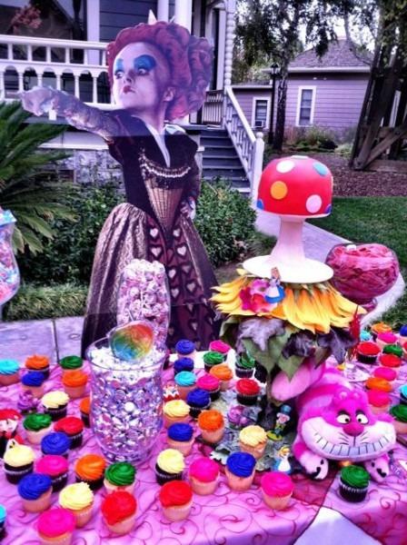 Alice In Wonderland Sweet 16