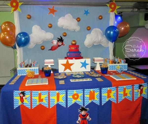 Dragon Ball Birthday Party Ideas