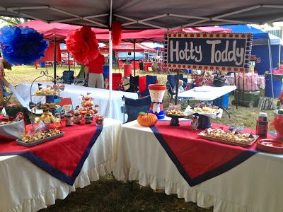 I Love The Grove Gal's Tailgate Party  Such Cute Decorations And
