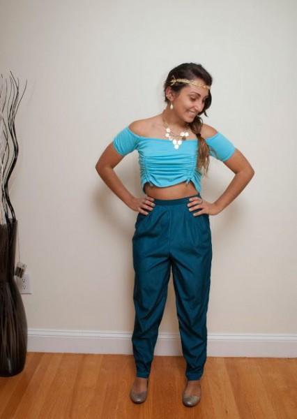 Princess Jasmine As A Homemade Halloween Costume