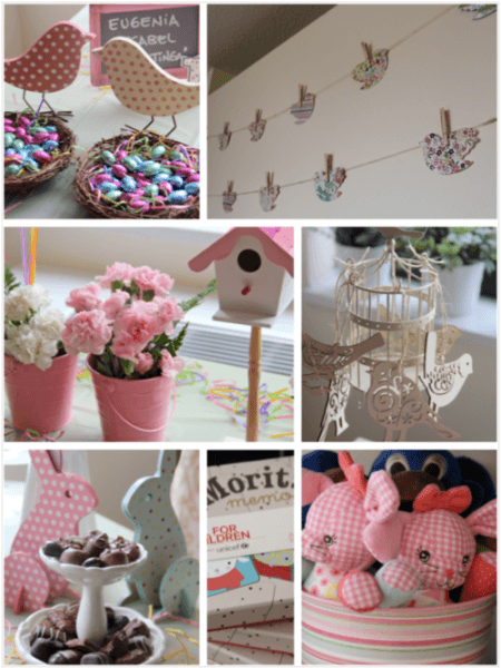 Eugenia's Birds Themed First Birthday Party
