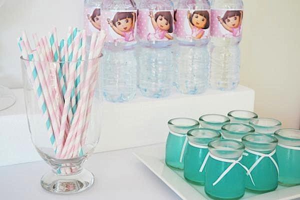 Kara's Party Ideas Dora Explorer Ballerina Girl Pink Birthday
