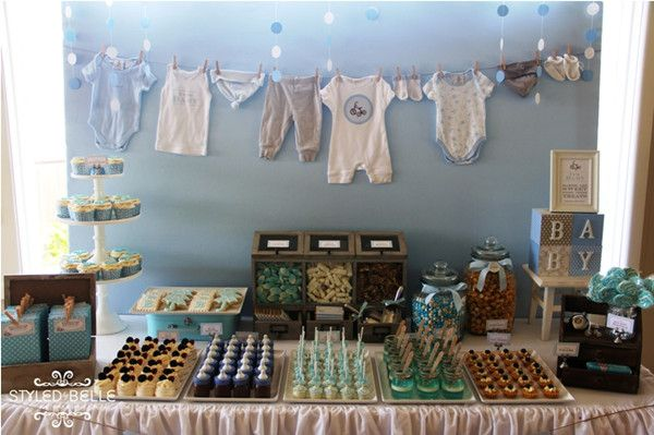 Vintage Baby Boy Shower  Tons Of Baby Shower Ideas Here!!!
