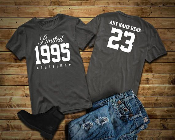 1995 Limited Edition 23rd Birthday Party Shirt, 23 Years Old Shirt