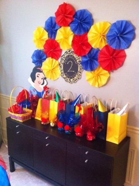 Snow White Party Ideas …