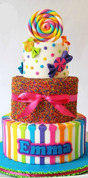 Candyland Cake …