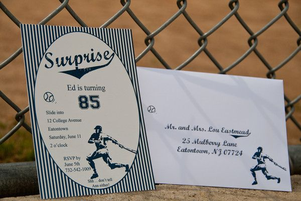 Real Parties} Vintage Baseball Birthday Party Â« Belleza E Luce