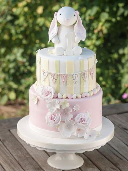 Vintage Wedding Birthday Cake