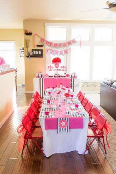 American Girl, 5th Birthday Birthday Party Ideas