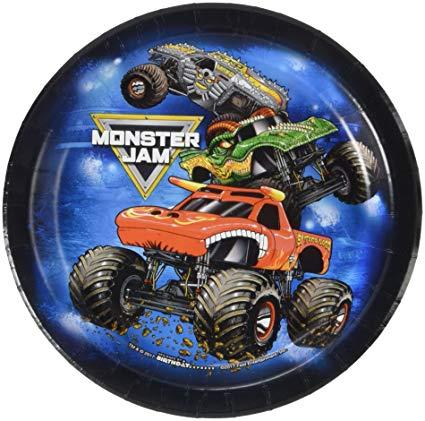 Amazon Com  Birthdayexpress Monster Jam Party Supplies