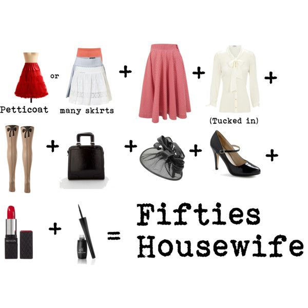 Diy Costume  50s Housewife, Created By Nathalia