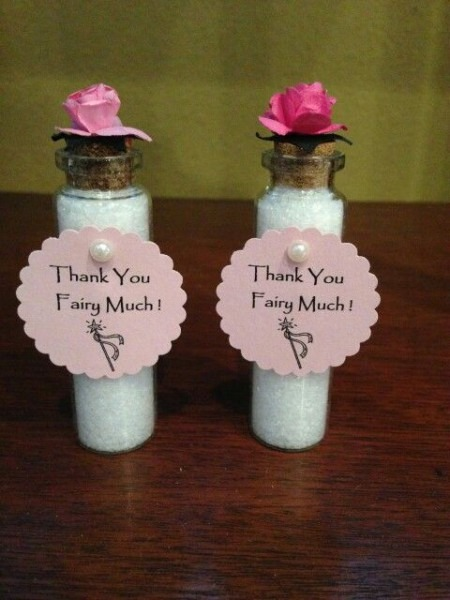 Garden Fairy Baby Shower Party Favors