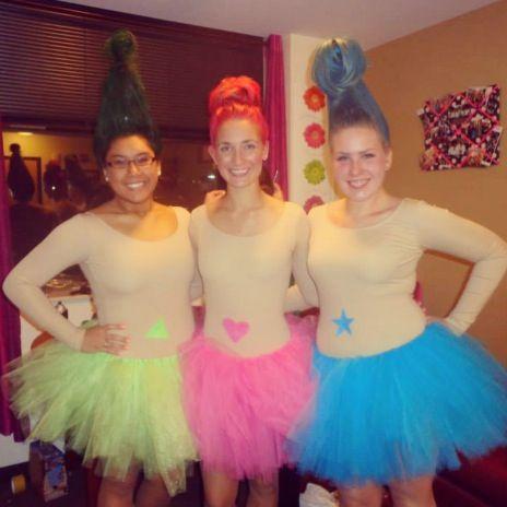 Naked Troll Dolls Diy Halloween Costume