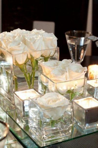 60 Simple & Elegant All White Wedding Color Ideas