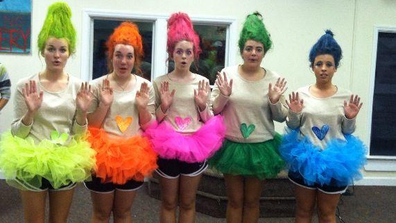 Halloween Costume  Diy  Trolls