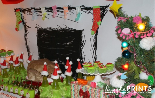 Grinch Birthday Party Decorations