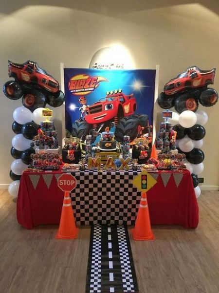 Blaze And The Monster Machine Birthday Party Ideas