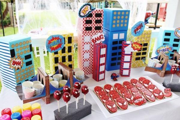 Kara's Party Ideas Amazing Spiderman Themed Birthday Party