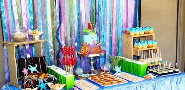 Kara's Party Ideas Ariel + The Little Mermaid Birthday Party
